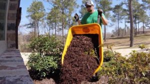 Mulch Installation Benton, Arkansas